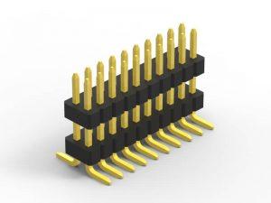 1.0mm Header Dual Row SMT Series A
