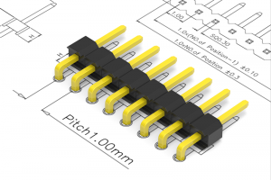 1.0mm pitch pin header