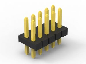 1.27mm pin header verticle dip dual row