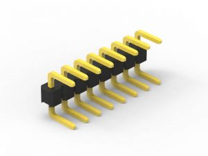 2.0mm Header Single Row RA Series C