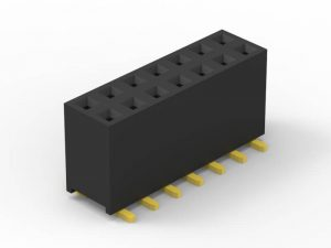 2.0mm female header SMD dual row