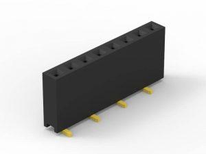 2.0mm female header SMD single row