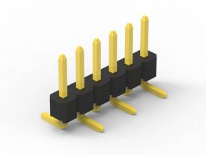 2.0mm pin header SMD single row