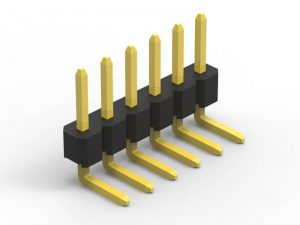 2.0mm pin header right angle single row