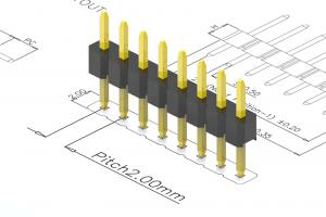 2.0mm pitch pin header
