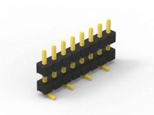 2.54mm Header Single Row SMT Series A