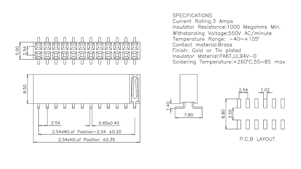 2-54mm-smt-dual-row-female-header