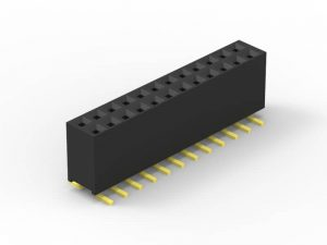 2.54mm female header SMD dual row