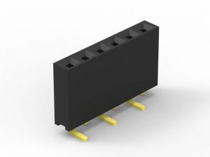 2.54mm female header SMD single row