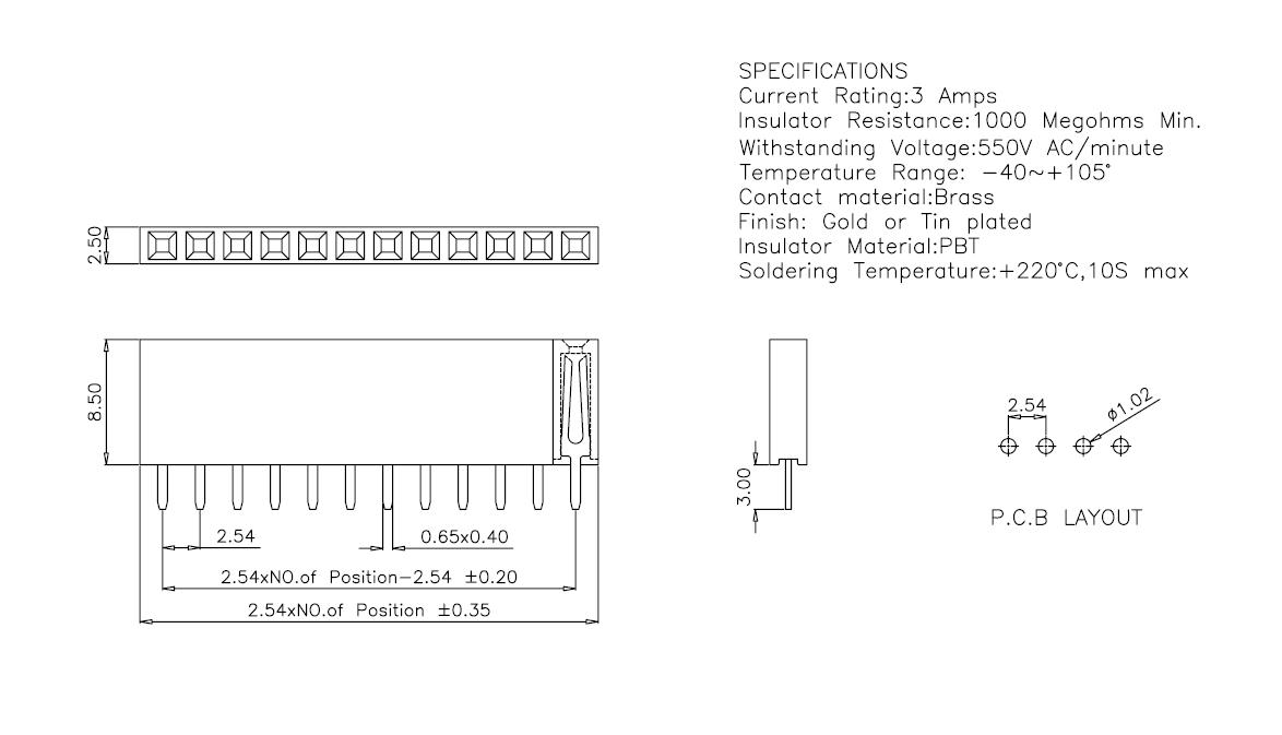 2-54mm-female-straight-header
