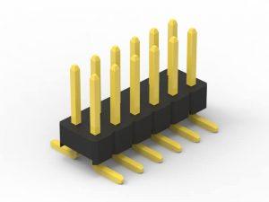 2.54mm pin header SMD dual row
