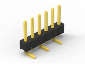 2.54mm pin header SMD single row