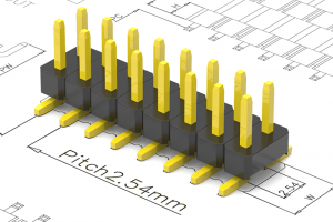 2.54mm pitch pin header
