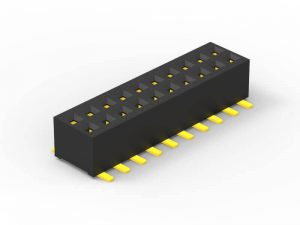 1.0mm female header SMD dual row