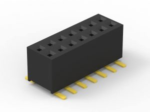 1.27 female header SMD dual row