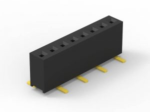 1.27 female header SMD single row